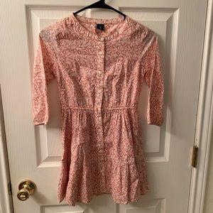 Gap Kids Pink Floral Dress-Medium